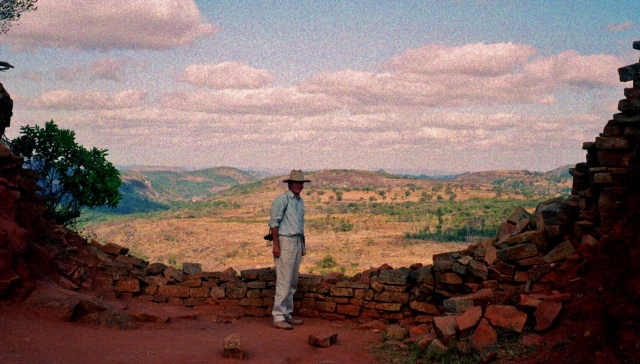 Graham at Great Zimbabwe
