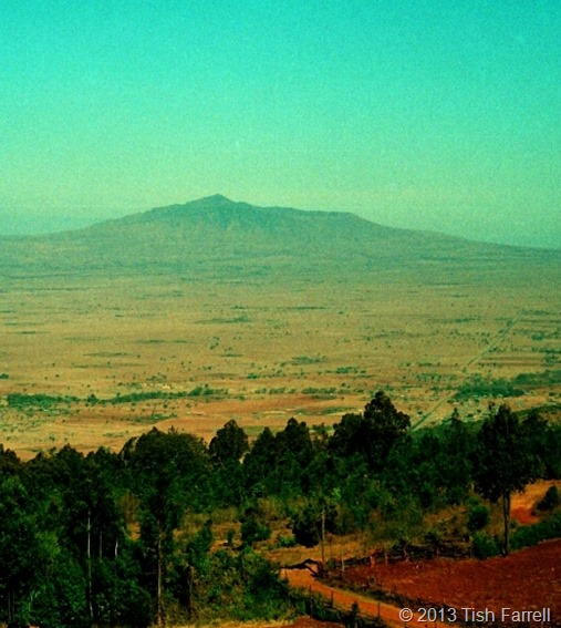 Rift Valley and Longonot from Escarpment (2)