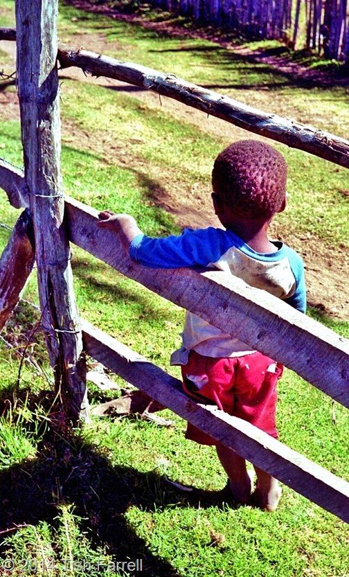 Kikuyu child