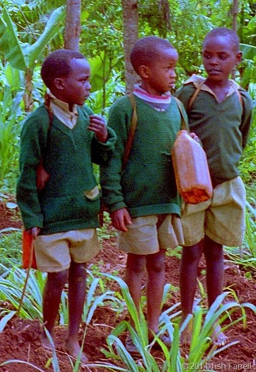 Kikuyu schoolboys