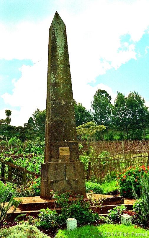 Denys Finch Hatton obelisk Ngong Hills
