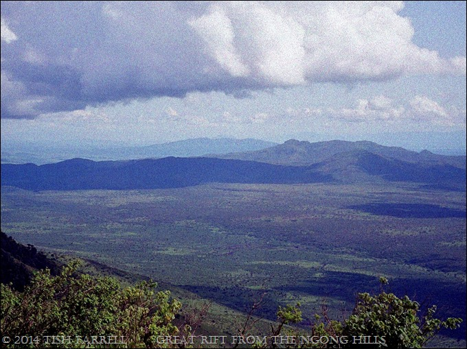 Ngong Hills, view of Rift Valley to the west