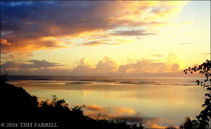 dawn over Tiwi lagoon