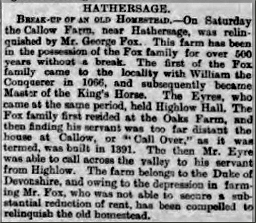 Derbyshire Courier 25 March 1893