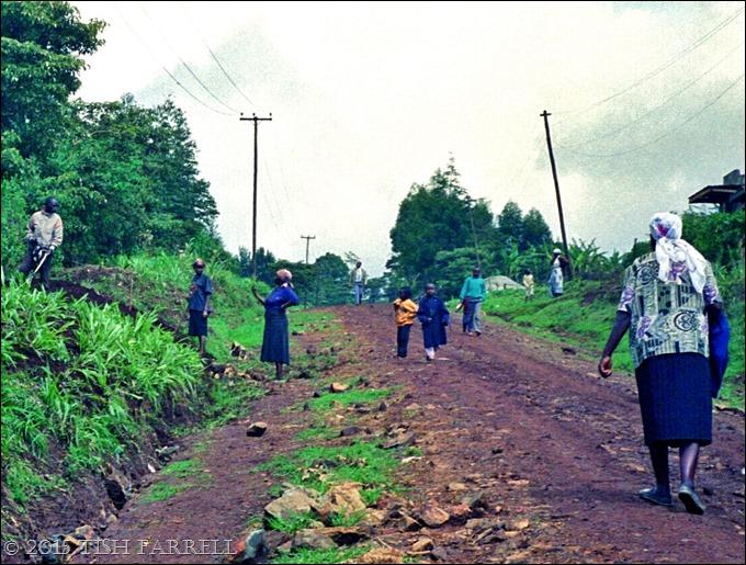 Rift lane after July downpour
