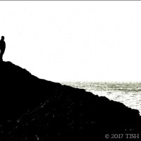 On Top On Llanddwyn Island ~ Black & White Sunday