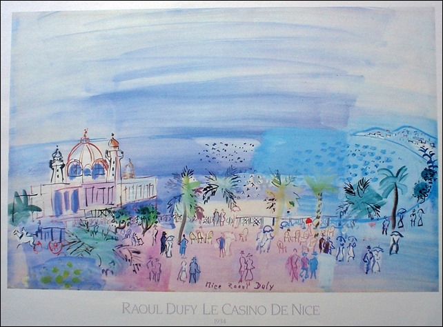 Dufy Le Casino de Nice