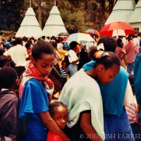 The 1995 Nairobi Agriculture Show ~ Waiting For Admission