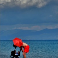 Peroulia Dreaming 5 ~ The Red Parasol
