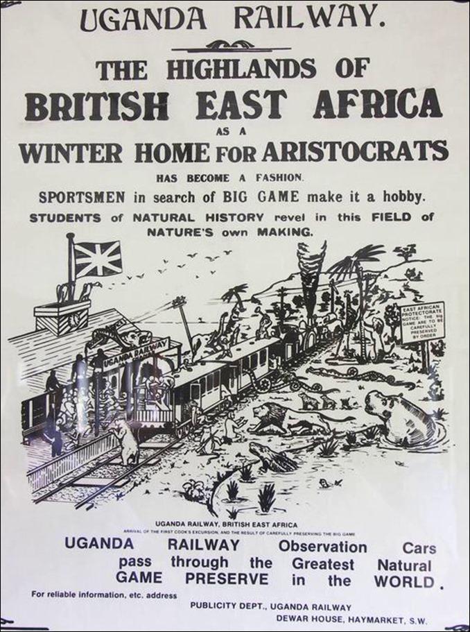 Uganda Railway and aristratic game resort