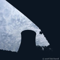 Ironbridge Cooling Tower As Seen From Under Another Severn Bridge