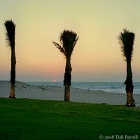 Persian Gulf Sunset And Wondering: Isn't Travel Always A Moral Issue?
