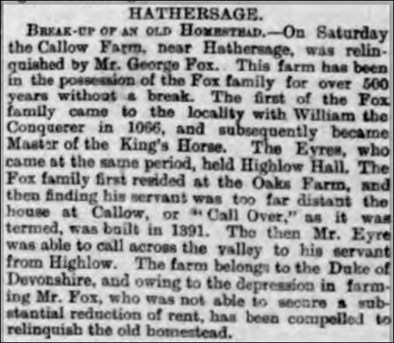 Derbyshire Courier 25 March 1893