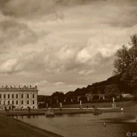 Chatsworth Revisited In Sepia