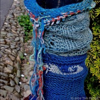 What A Good Yarn! Knitting Bombs in Bishops Castle