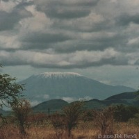 Snow Top With Clouds On Top ~ Kilimanjaro Then And Now