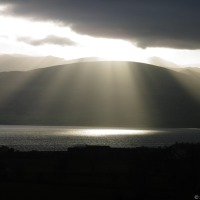 Catching the Light ~ Menai Strait In Winter