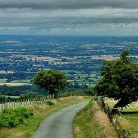 Taking The Back Roads In The Shropshire Hills