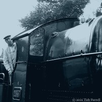 Steaming Past ~ The Engine Driver